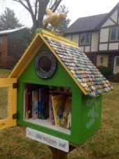 Pequeña Librería Comunitaria en EEUU
