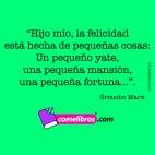 Frase de Groucho Marx