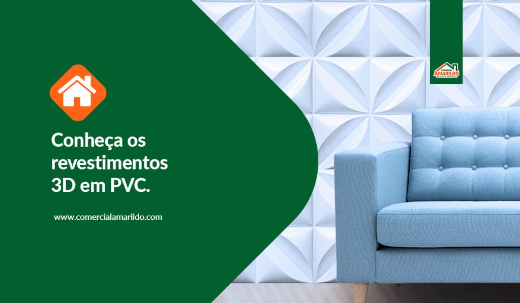 Conheça os revestimentos 3D em PVC