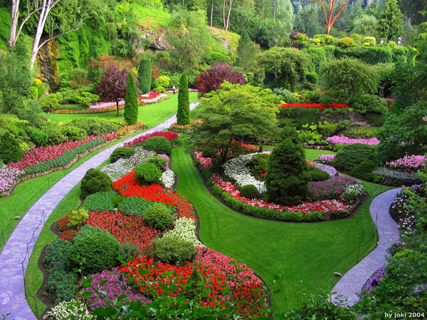 Butchart-Gardens-Columbia-Canada1