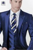 Bildergebnis für blauer anzug krawatte