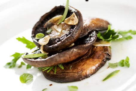 cooked mushrooms
