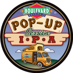 Pop Up Session IPA Badge