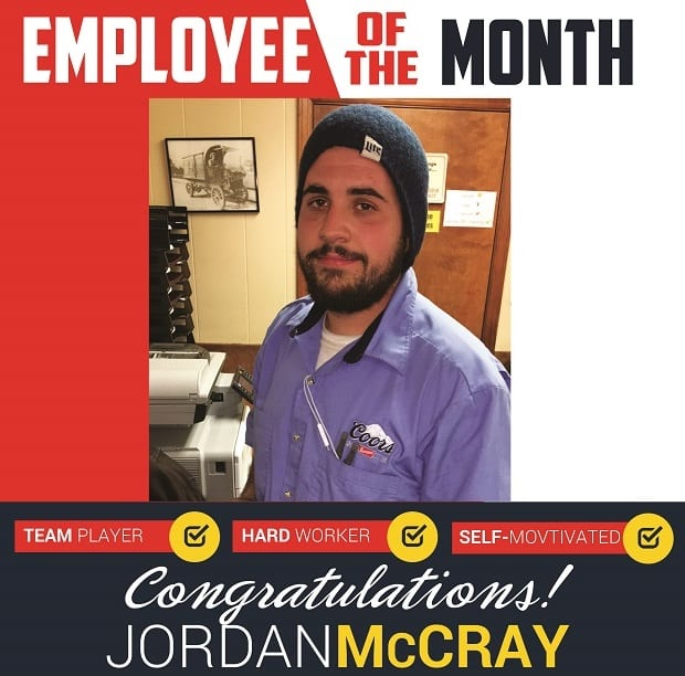 Employee of the Month – November 2016