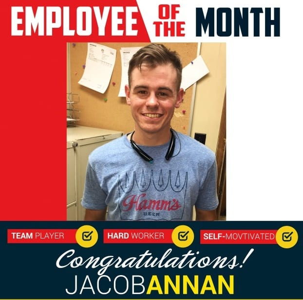 Employee of the Month – April 2017