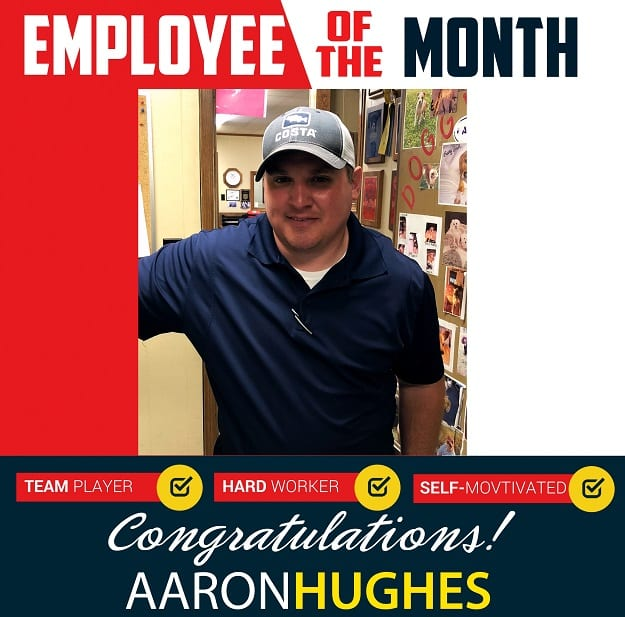 Employee of the Month – May 2018