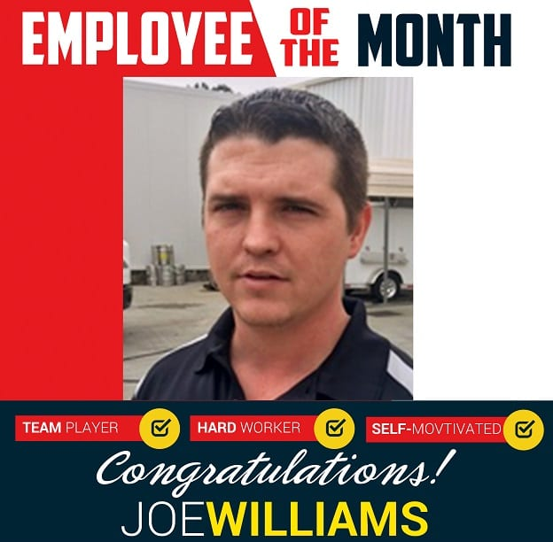 Employee of the Month – June 2018