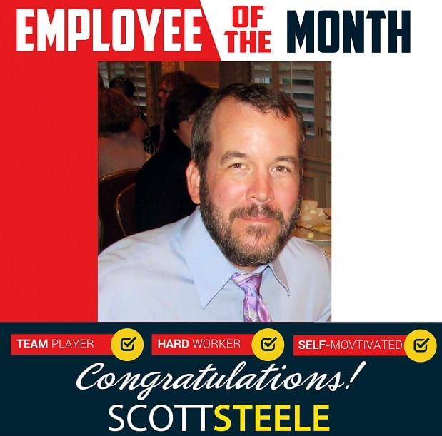 Employee of the Month – September 2018