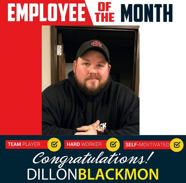 Employee of the Month – January 2019