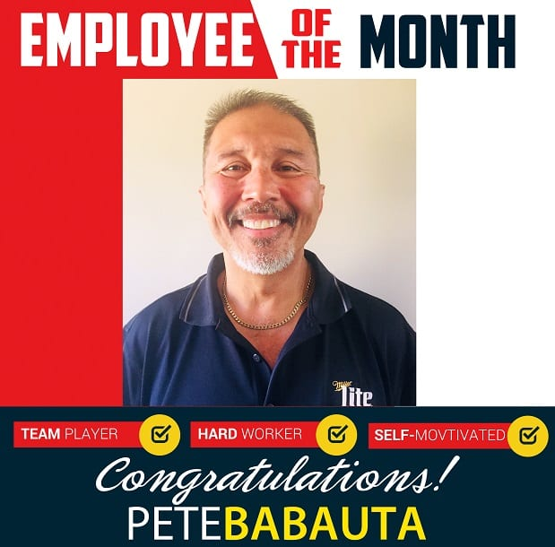 Employee of the Month – May 2019