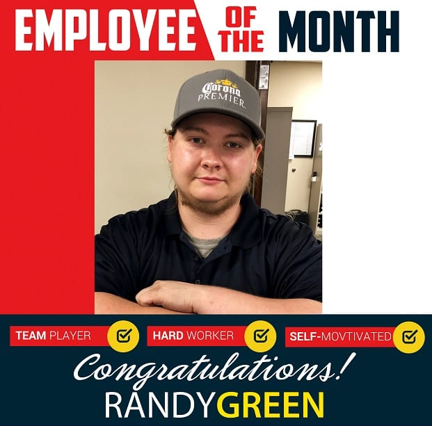Employee of the Month – October 2019