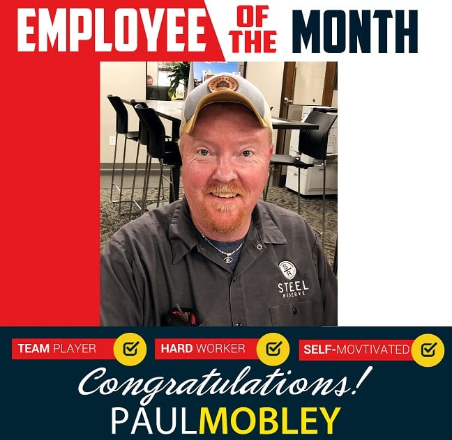 Employee of the Month – December 2019