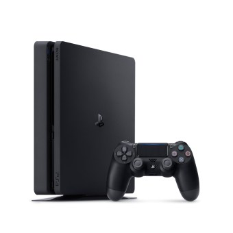 26271 4 - PLAYSTATION SONY PS4 SLIM 1TB BLACK+JOYSTICK ADIC