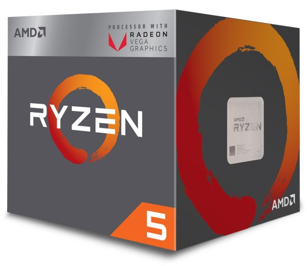 27735 1 - MICROPROCESADOR  AMD RYZEN 5 2400G 3.9GHZ 4 CORES INCLUYE FAN