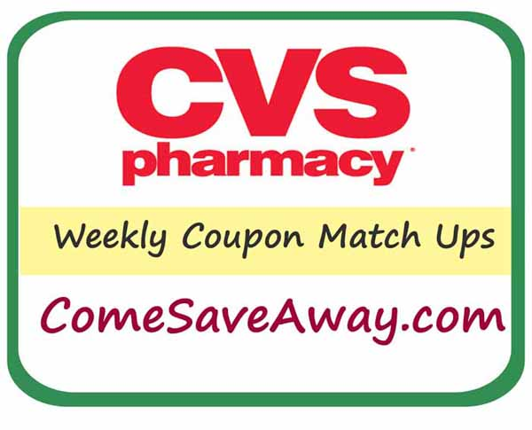CVS Deals & Steals  from comesaveaway.com  Week of 7/6