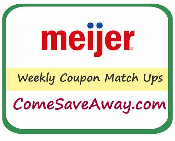 Meijer Coupon Match up week of 6/22