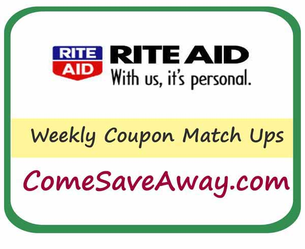 Deals & Steals at Rite Aid from comesaveaway.com