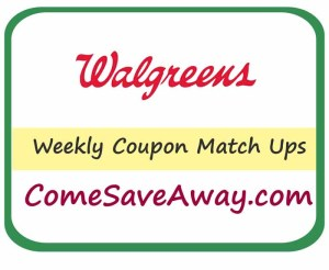 Walgreens Coupon Matchup from Comesaveaway.com