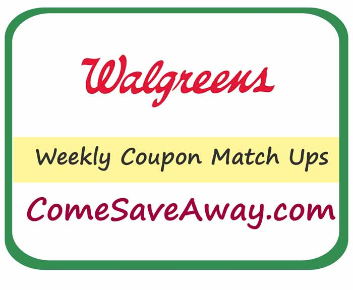 Walgreens Deals & Steals Coupon Match Up  Week of 7/27