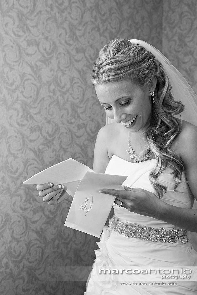 Write letters to each other and read them before the ceremony! Such a good idea!