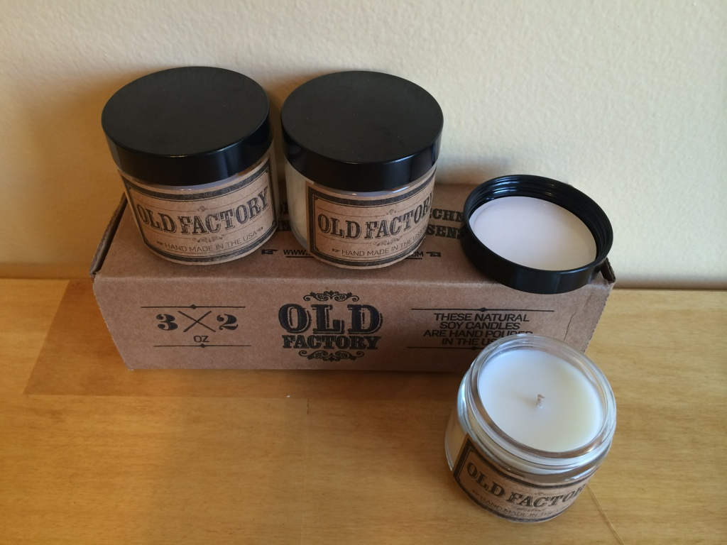 Old Factory Candle Set GIVEAWAY & Review!