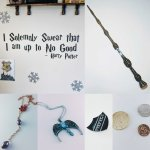 How to get good Harry Potter merchandise on the Wish app