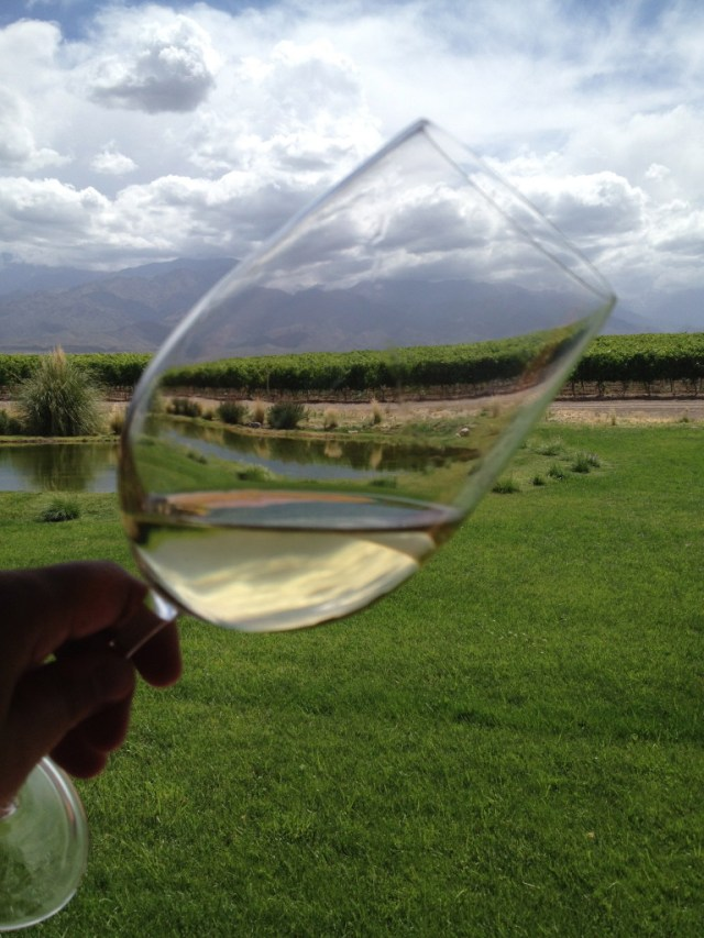Doña Paula Estate Chardonnay 2013 as drunk at La Morada de Los Andes.