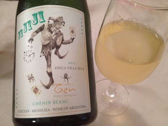 Weak Day Wines and Monday's all about 10.5% Chenin Blanc.