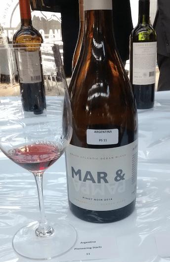 Mar y Pampa Pinot Noir 2014, Chapadmalal, Bodegas Trapiche.