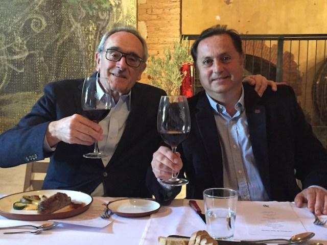 Jean Claude and Fabián at Tapiz. Ph: Sorrel Moseley-Williams