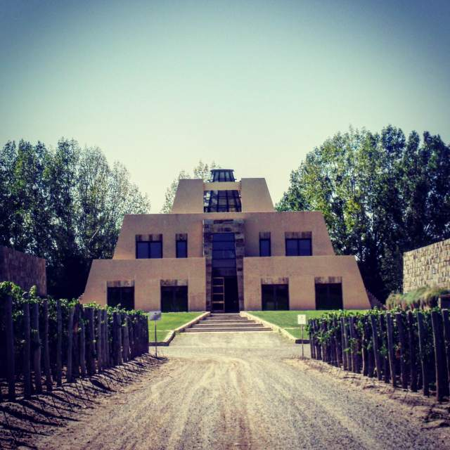 No shamans were involved in the construction of this winery.