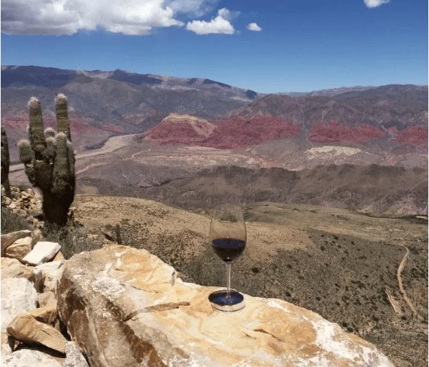 Tasting at altitude in the Quebrada de Humahuaca.