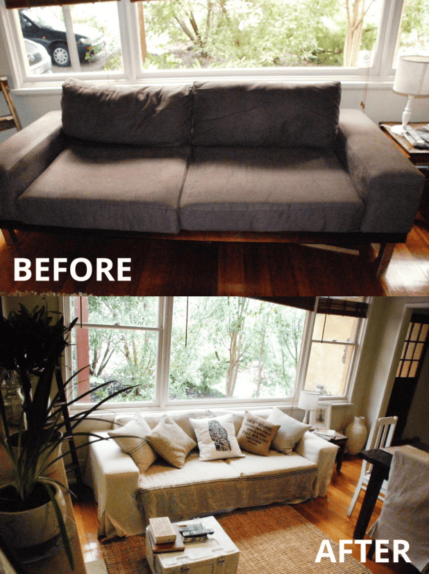 Upcycling old sofa for Sofa upcycling