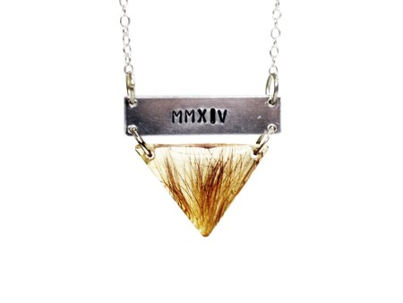 hair memorial necklace