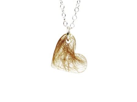 heart memorial necklace