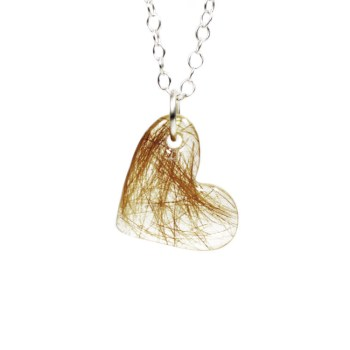 heart memorial necklace