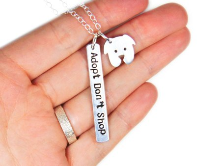 dog adoption necklace