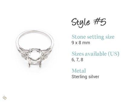 custom memorial ring