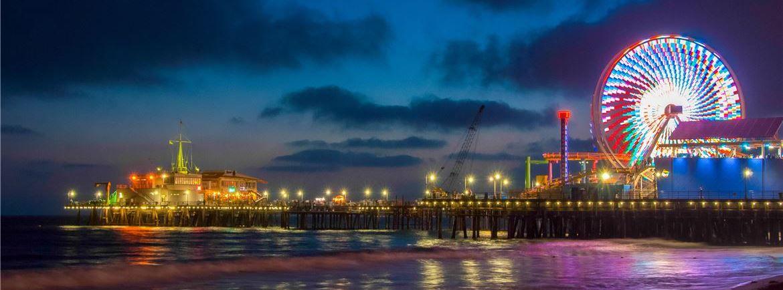 Santa Monica Pier Rides Aquarium Amp Oceanfront Dining