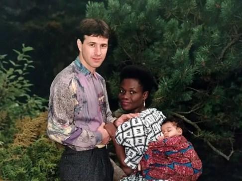Family Photo - Mixed Family
