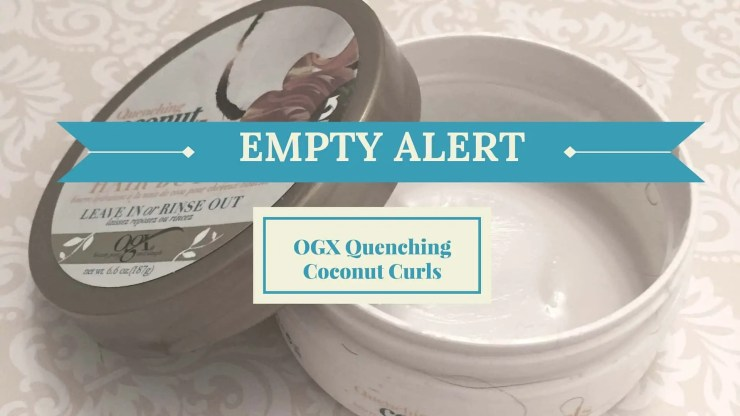 OGX Quenching Coconut Curls Hair Butter Review | Natural Hair | Curly Hair