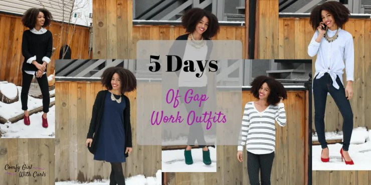 OOTD | Gap Work Outfits | Work Clothing from the Gap