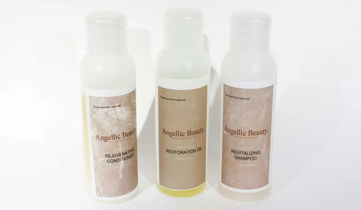 Angellic Beauty Products | Natural Hair Care | Oil Based Hair Care | Comfy Girl With Curls