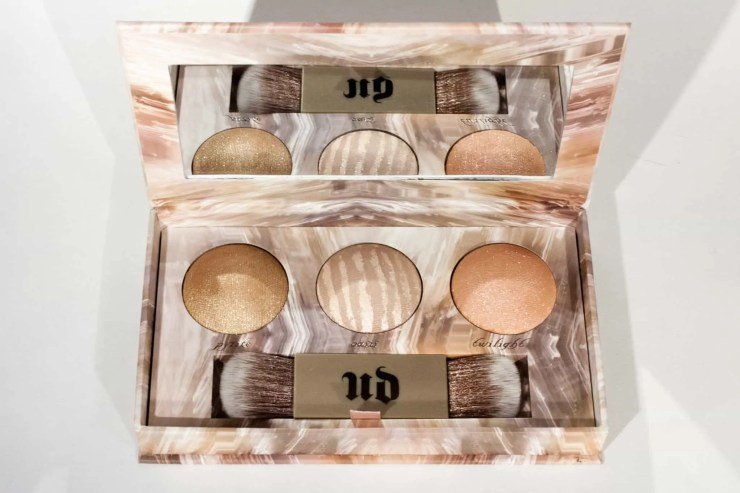 Urban Decay Naked Illuminated Trio | Limited Edition Highlighter Palette | Blog