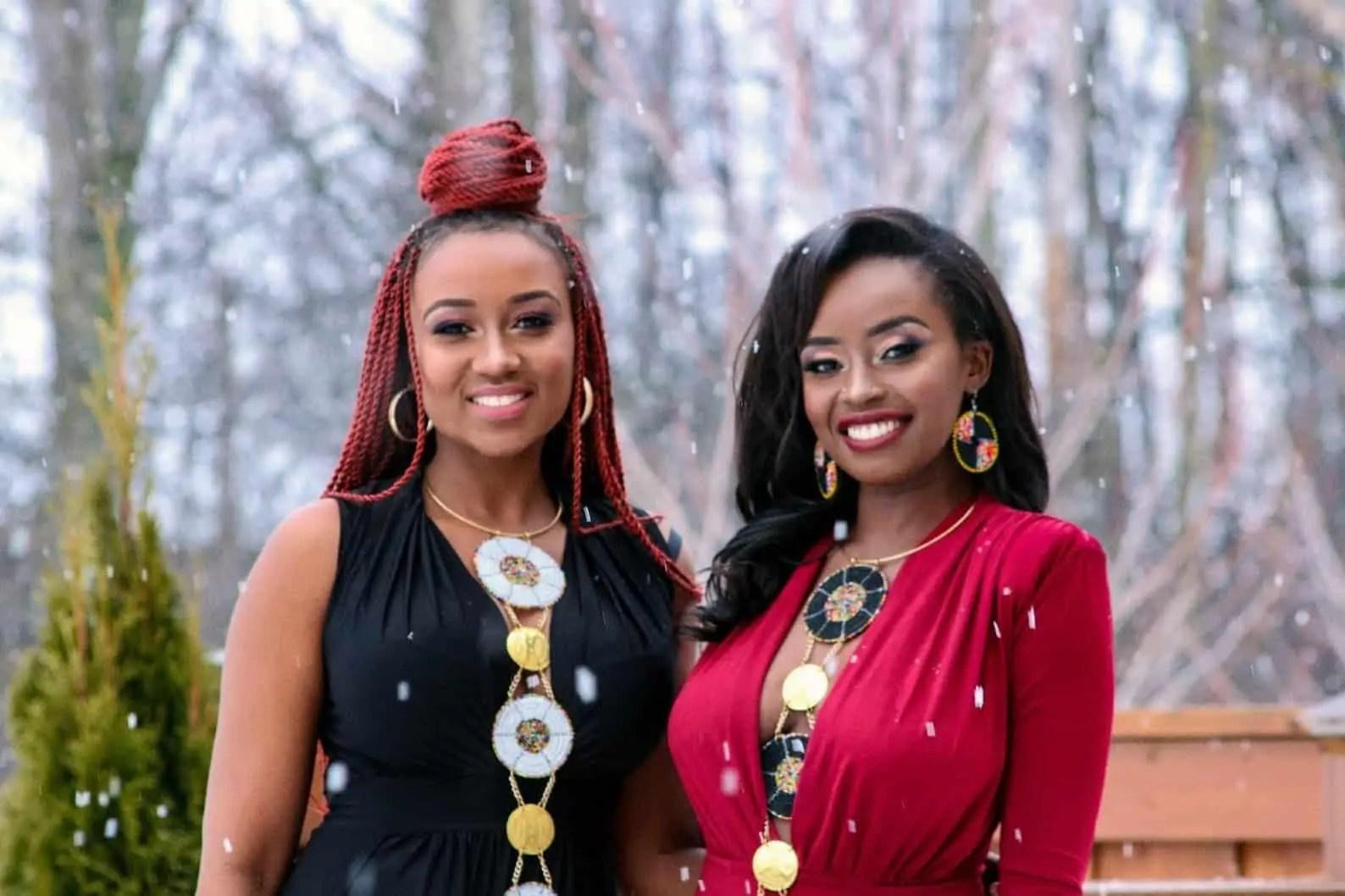 SanaaZuri | Afro-goddess Necklace | Black Owned Canadian Etsy Seller