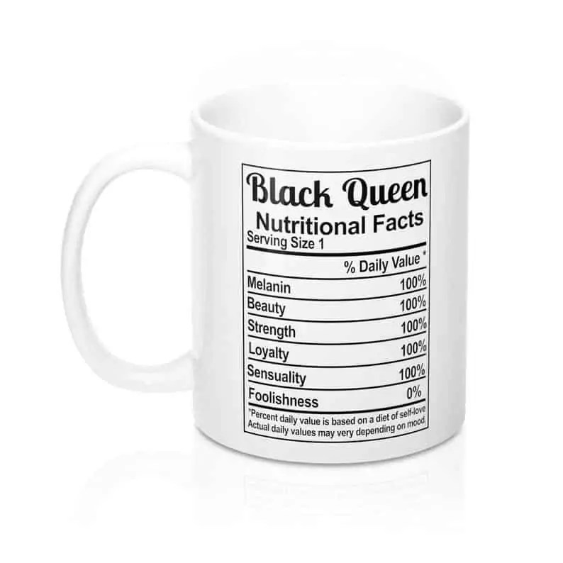 M&K Creative Designs Black Owned Canadian Etsy Shop | Afrocentric Products Black Queen