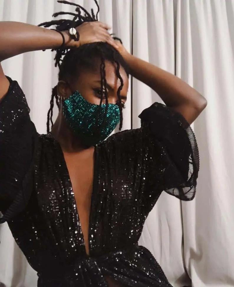 Zoba Martin Shop Selling Luxury Fashion Face Masks on Etsy