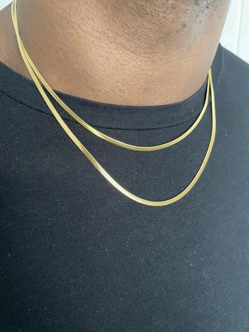 JOAS Accessories Chain   Black Owned Etsy Gifts for Men