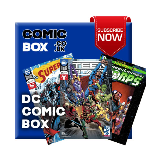 Mystery DC Comic Box