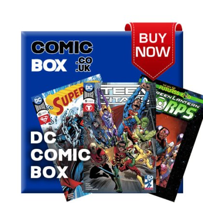 'Buy Now' DC Mystery Comic Box